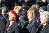 Remembrance Sunday Cenotaph March Past 2013: E30 - Association of WRENS.. Press stand opposite the Foreign Office building, Whitehall, London SW1, London, Greater London, United Kingdom, on 10 November 2013 at 11:48, image #610
