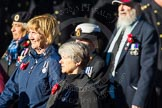 Remembrance Sunday Cenotaph March Past 2013: E30 - Association of WRENS.. Press stand opposite the Foreign Office building, Whitehall, London SW1, London, Greater London, United Kingdom, on 10 November 2013 at 11:48, image #616