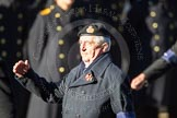 Remembrance Sunday Cenotaph March Past 2013: E31 - Royal Fleet Auxiliary Association.. Press stand opposite the Foreign Office building, Whitehall, London SW1, London, Greater London, United Kingdom, on 10 November 2013 at 11:48, image #621