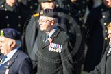 Remembrance Sunday Cenotaph March Past 2013: E32 - Royal Naval Communications Association.. Press stand opposite the Foreign Office building, Whitehall, London SW1, London, Greater London, United Kingdom, on 10 November 2013 at 11:48, image #635