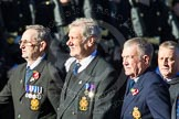 Remembrance Sunday Cenotaph March Past 2013: E40 - Association of Royal Yachtsmen.. Press stand opposite the Foreign Office building, Whitehall, London SW1, London, Greater London, United Kingdom, on 10 November 2013 at 11:49, image #695