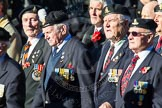 Remembrance Sunday Cenotaph March Past 2013: F1 - British Korean Veterans Association.. Press stand opposite the Foreign Office building, Whitehall, London SW1, London, Greater London, United Kingdom, on 10 November 2013 at 11:49, image #736