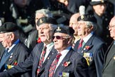Remembrance Sunday Cenotaph March Past 2013: F1 - British Korean Veterans Association.. Press stand opposite the Foreign Office building, Whitehall, London SW1, London, Greater London, United Kingdom, on 10 November 2013 at 11:49, image #737