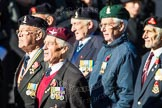 Remembrance Sunday Cenotaph March Past 2013: F1 - British Korean Veterans Association.. Press stand opposite the Foreign Office building, Whitehall, London SW1, London, Greater London, United Kingdom, on 10 November 2013 at 11:49, image #740