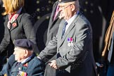 Remembrance Sunday Cenotaph March Past 2013: F3 - Normandy Veterans Association.. Press stand opposite the Foreign Office building, Whitehall, London SW1, London, Greater London, United Kingdom, on 10 November 2013 at 11:50, image #757