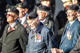 Remembrance Sunday Cenotaph March Past 2013: F4 - National Service Veterans Alliance.. Press stand opposite the Foreign Office building, Whitehall, London SW1, London, Greater London, United Kingdom, on 10 November 2013 at 11:50, image #766