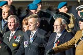 Remembrance Sunday Cenotaph March Past 2013: F7 - Gallantry Medallists League.. Press stand opposite the Foreign Office building, Whitehall, London SW1, London, Greater London, United Kingdom, on 10 November 2013 at 11:50, image #792