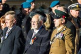 Remembrance Sunday Cenotaph March Past 2013: F7 - Gallantry Medallists League.. Press stand opposite the Foreign Office building, Whitehall, London SW1, London, Greater London, United Kingdom, on 10 November 2013 at 11:50, image #793