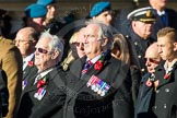 Remembrance Sunday Cenotaph March Past 2013: F7 - Gallantry Medallists League.. Press stand opposite the Foreign Office building, Whitehall, London SW1, London, Greater London, United Kingdom, on 10 November 2013 at 11:50, image #799