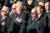 Remembrance Sunday Cenotaph March Past 2013: F7 - Gallantry Medallists League.. Press stand opposite the Foreign Office building, Whitehall, London SW1, London, Greater London, United Kingdom, on 10 November 2013 at 11:50, image #800