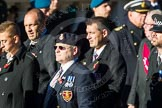 Remembrance Sunday Cenotaph March Past 2013: F7 - Gallantry Medallists League.. Press stand opposite the Foreign Office building, Whitehall, London SW1, London, Greater London, United Kingdom, on 10 November 2013 at 11:50, image #802