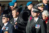 Remembrance Sunday Cenotaph March Past 2013: F7 - Gallantry Medallists League.. Press stand opposite the Foreign Office building, Whitehall, London SW1, London, Greater London, United Kingdom, on 10 November 2013 at 11:50, image #803