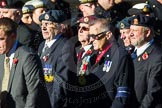 Remembrance Sunday Cenotaph March Past 2013: F16 - Aden Veterans Association.. Press stand opposite the Foreign Office building, Whitehall, London SW1, London, Greater London, United Kingdom, on 10 November 2013 at 11:52, image #886