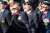 Remembrance Sunday Cenotaph March Past 2013: F16 - Aden Veterans Association.. Press stand opposite the Foreign Office building, Whitehall, London SW1, London, Greater London, United Kingdom, on 10 November 2013 at 11:52, image #887