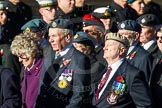 Remembrance Sunday Cenotaph March Past 2013: F16 - Aden Veterans Association.. Press stand opposite the Foreign Office building, Whitehall, London SW1, London, Greater London, United Kingdom, on 10 November 2013 at 11:52, image #896