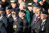 Remembrance Sunday Cenotaph March Past 2013: F16 - Aden Veterans Association.. Press stand opposite the Foreign Office building, Whitehall, London SW1, London, Greater London, United Kingdom, on 10 November 2013 at 11:52, image #899