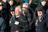 Remembrance Sunday Cenotaph March Past 2013: F18 - Showmens' Guild of Great Britain.. Press stand opposite the Foreign Office building, Whitehall, London SW1, London, Greater London, United Kingdom, on 10 November 2013 at 11:52, image #933