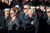 Remembrance Sunday Cenotaph March Past 2013: F22 - Black and White Club.. Press stand opposite the Foreign Office building, Whitehall, London SW1, London, Greater London, United Kingdom, on 10 November 2013 at 11:54, image #978