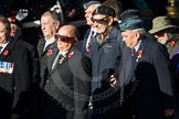 Remembrance Sunday Cenotaph March Past 2013. Press stand opposite the Foreign Office building, Whitehall, London SW1, London, Greater London, United Kingdom, on 10 November 2013 at 11:54, image #982