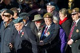 Remembrance Sunday Cenotaph March Past 2013. Press stand opposite the Foreign Office building, Whitehall, London SW1, London, Greater London, United Kingdom, on 10 November 2013 at 11:54, image #984