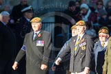 Remembrance Sunday Cenotaph March Past 2013: A3 - The Duke of Lancaster's Regimental Association.. Press stand opposite the Foreign Office building, Whitehall, London SW1, London, Greater London, United Kingdom, on 10 November 2013 at 11:54, image #1025