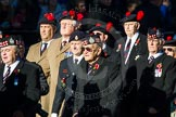 Remembrance Sunday Cenotaph March Past 2013: A20 - King's Own Scottish Borderers.. Press stand opposite the Foreign Office building, Whitehall, London SW1, London, Greater London, United Kingdom, on 10 November 2013 at 11:57, image #1202