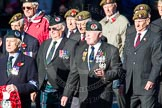 Remembrance Sunday Cenotaph March Past 2013: A24 - The Cameronians (Scottish Rifles).. Press stand opposite the Foreign Office building, Whitehall, London SW1, London, Greater London, United Kingdom, on 10 November 2013 at 11:57, image #1226