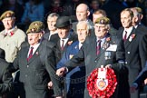 Remembrance Sunday Cenotaph March Past 2013: A25 - Grenadier Guards Association.. Press stand opposite the Foreign Office building, Whitehall, London SW1, London, Greater London, United Kingdom, on 10 November 2013 at 11:57, image #1230