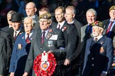 Remembrance Sunday Cenotaph March Past 2013: A25 - Grenadier Guards Association.. Press stand opposite the Foreign Office building, Whitehall, London SW1, London, Greater London, United Kingdom, on 10 November 2013 at 11:58, image #1231