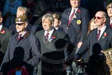 Remembrance Sunday Cenotaph March Past 2013: A26 - Coldstream Guards Association.. Press stand opposite the Foreign Office building, Whitehall, London SW1, London, Greater London, United Kingdom, on 10 November 2013 at 11:58, image #1238