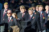 Remembrance Sunday Cenotaph March Past 2013: A27 - Scots Guards Association.. Press stand opposite the Foreign Office building, Whitehall, London SW1, London, Greater London, United Kingdom, on 10 November 2013 at 11:58, image #1240
