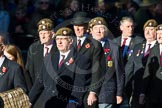 Remembrance Sunday Cenotaph March Past 2013: A27 - Scots Guards Association.. Press stand opposite the Foreign Office building, Whitehall, London SW1, London, Greater London, United Kingdom, on 10 November 2013 at 11:58, image #1241