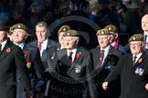 Remembrance Sunday Cenotaph March Past 2013: A27 - Scots Guards Association.. Press stand opposite the Foreign Office building, Whitehall, London SW1, London, Greater London, United Kingdom, on 10 November 2013 at 11:58, image #1243