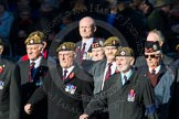 Remembrance Sunday Cenotaph March Past 2013: A27 - Scots Guards Association.. Press stand opposite the Foreign Office building, Whitehall, London SW1, London, Greater London, United Kingdom, on 10 November 2013 at 11:58, image #1245