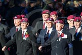 Remembrance Sunday Cenotaph March Past 2013: A28 - Guards Parachute Association.. Press stand opposite the Foreign Office building, Whitehall, London SW1, London, Greater London, United Kingdom, on 10 November 2013 at 11:58, image #1255