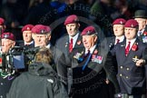 Remembrance Sunday Cenotaph March Past 2013: A28 - Guards Parachute Association.. Press stand opposite the Foreign Office building, Whitehall, London SW1, London, Greater London, United Kingdom, on 10 November 2013 at 11:58, image #1260