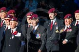 Remembrance Sunday Cenotaph March Past 2013: A28 - Guards Parachute Association.. Press stand opposite the Foreign Office building, Whitehall, London SW1, London, Greater London, United Kingdom, on 10 November 2013 at 11:58, image #1261