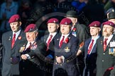 Remembrance Sunday Cenotaph March Past 2013: A28 - Guards Parachute Association.. Press stand opposite the Foreign Office building, Whitehall, London SW1, London, Greater London, United Kingdom, on 10 November 2013 at 11:58, image #1262