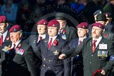Remembrance Sunday Cenotaph March Past 2013: A29 - 4 Company Association (Parachute Regiment).. Press stand opposite the Foreign Office building, Whitehall, London SW1, London, Greater London, United Kingdom, on 10 November 2013 at 11:58, image #1263