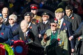 Remembrance Sunday Cenotaph March Past 2013: A30 - Princess of Wales's Royal Regiment.. Press stand opposite the Foreign Office building, Whitehall, London SW1, London, Greater London, United Kingdom, on 10 November 2013 at 11:58, image #1275