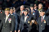 Remembrance Sunday Cenotaph March Past 2013: A32 - Royal East Kent Regiment (The Buffs) Past & Present Association.. Press stand opposite the Foreign Office building, Whitehall, London SW1, London, Greater London, United Kingdom, on 10 November 2013 at 11:58, image #1280