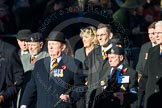 Remembrance Sunday Cenotaph March Past 2013: A33 - Royal Sussex Regimental Association.. Press stand opposite the Foreign Office building, Whitehall, London SW1, London, Greater London, United Kingdom, on 10 November 2013 at 11:58, image #1287