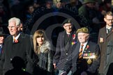 Remembrance Sunday Cenotaph March Past 2013: A33 - Royal Sussex Regimental Association.. Press stand opposite the Foreign Office building, Whitehall, London SW1, London, Greater London, United Kingdom, on 10 November 2013 at 11:58, image #1291