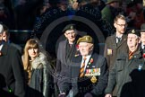 Remembrance Sunday Cenotaph March Past 2013: A33 - Royal Sussex Regimental Association.. Press stand opposite the Foreign Office building, Whitehall, London SW1, London, Greater London, United Kingdom, on 10 November 2013 at 11:58, image #1292