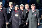 Remembrance Sunday Cenotaph March Past 2013: A34 -Royal Hampshire Regiment Comrades Association.. Press stand opposite the Foreign Office building, Whitehall, London SW1, London, Greater London, United Kingdom, on 10 November 2013 at 11:59, image #1304