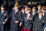 Remembrance Sunday Cenotaph March Past 2013: B4 - Queen's Royal Hussars (The Queen's Own & Royal Irish).. Press stand opposite the Foreign Office building, Whitehall, London SW1, London, Greater London, United Kingdom, on 10 November 2013 at 11:59, image #1320