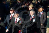 Remembrance Sunday Cenotaph March Past 2013: B6 - The 16/5th Queen's Royal Lancers.. Press stand opposite the Foreign Office building, Whitehall, London SW1, London, Greater London, United Kingdom, on 10 November 2013 at 11:59, image #1342