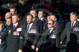 Remembrance Sunday Cenotaph March Past 2013: B12 - Association of Ammunition Technicians.. Press stand opposite the Foreign Office building, Whitehall, London SW1, London, Greater London, United Kingdom, on 10 November 2013 at 12:00, image #1384