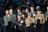Remembrance Sunday Cenotaph March Past 2013: B16 - 656 Squadron Association.. Press stand opposite the Foreign Office building, Whitehall, London SW1, London, Greater London, United Kingdom, on 10 November 2013 at 12:01, image #1426