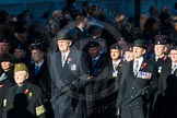 Remembrance Sunday Cenotaph March Past 2013: B17 - Home Guard Association.. Press stand opposite the Foreign Office building, Whitehall, London SW1, London, Greater London, United Kingdom, on 10 November 2013 at 12:01, image #1434